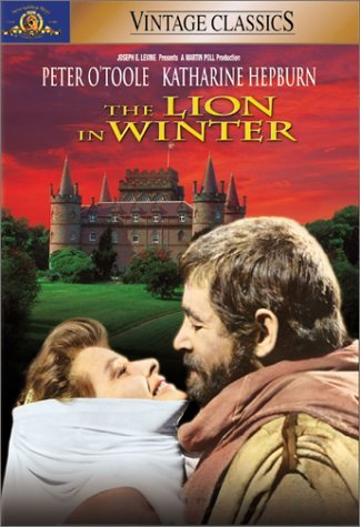 The Lion In Winter O'toole Hepburn Merrow Terry DVD Pg