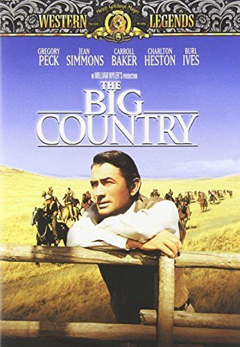 Big Country Peck Heston Ives Simmons Baker Clr Cc Ws Mult Dub Sub Nr Western Legen