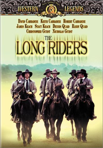 Long Riders Carradine Keach Quaid DVD R