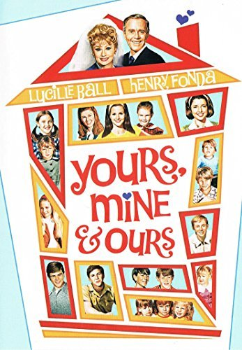 Yours Mine & Ours Ball Fonda Johnson Matheson Bo Clr Cc Mult Dub Sub Nr Movie Time