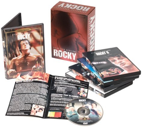 Rocky Collection Stallone Shire Young Clr Cc Pg 5 DVD
