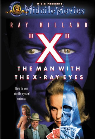 X The Man With The X Ray Eyes Milland Van Der Vlis Stone Hoy Clr Cc Ws Mult Sub Nr Midnite Movies
