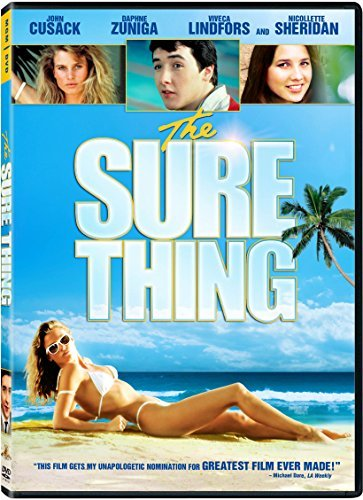 Sure Thing Cusack Zuniga Sheridan DVD Pg13 Ws
