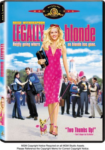 Legally Blonde Witherspoon Wilson Blair Davis DVD Pg13 Ws