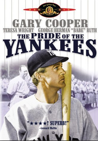 Pride Of The Yankees Cooper Wright Brennan Ruth Clr Nr