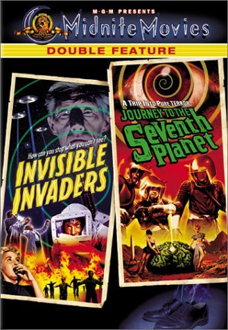 Invisible Invaders Seventh Pla Midnite Movies Double Feature Clr Nr 2 On 1