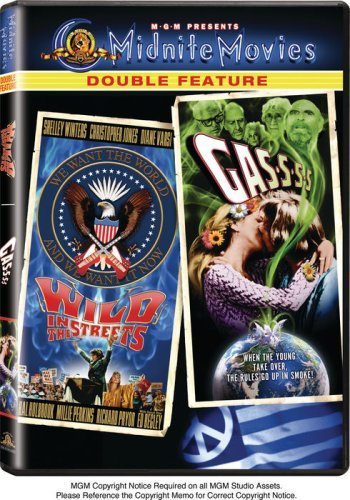 Wild In The Streets Gas S S S Mgm Double Feature Ws Nr 2 DVD