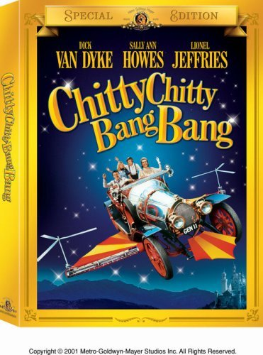 Chitty Chitty Bang Bang Van Dyke Howes Jeffries Clr Nr 2 DVD Spec. E