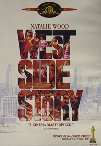 West Side Story Wood Beymer Tamblyn Moreno DVD N
