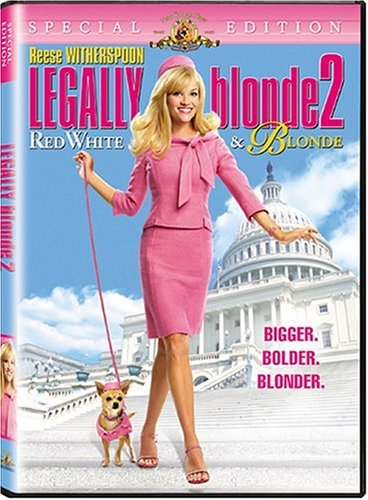 Legally Blonde 2 Red White & B Witherspoon Field Newhart Pg13