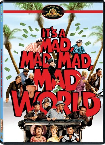 It's A Mad Mad Mad Mad World Tracy Adams Berle DVD G Ws