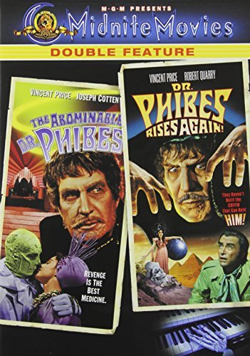 Abominable Dr Phibes Dr Phibes Mgm Double Feature Ws Nr 2 DVD