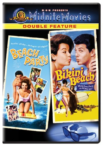 Beach Party Bikini Beach Mgm Double Feature Nr 2 DVD