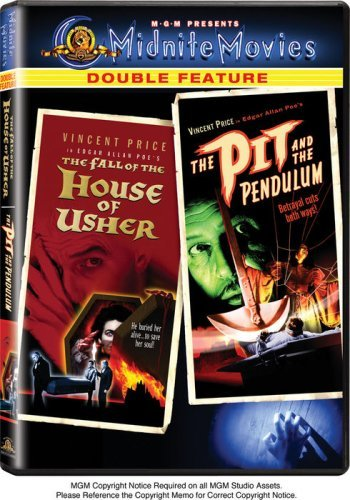 Fall Of The House Of Usher Pit Mgm Double Feature Clr Nr 2 DVD