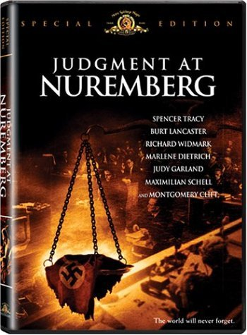 Judgment At Nuremberg Tracy Lancaster Widmark Clift Bw Ws Nr