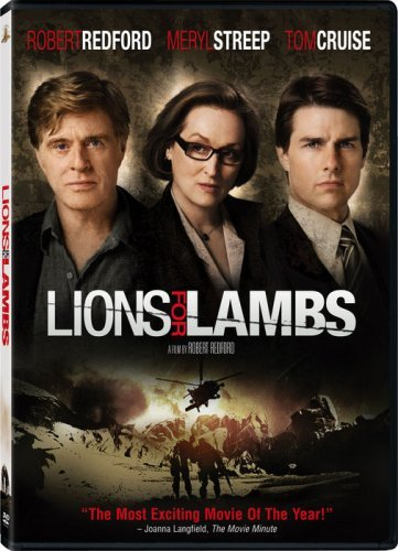 Lions For Lambs Cruise Streep Redford Ws R