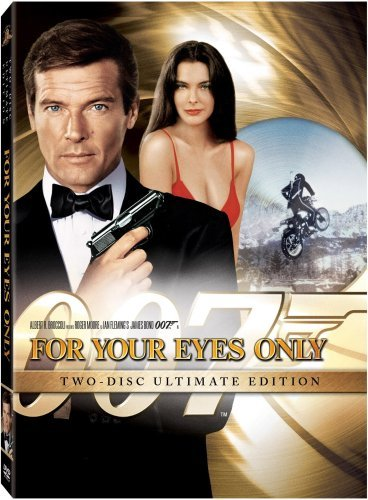 James Bond For Your Eyes Only Moore Roger Pg Incl. Movie Money