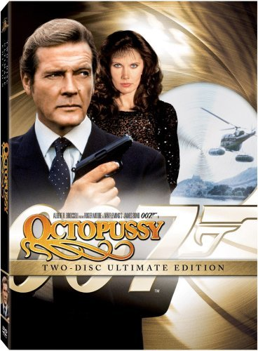 James Bond Octopussy Moore Roger Pg Incl. Movie Money