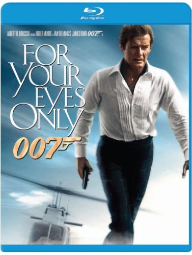 James Bond For Your Eyes Only Moore Roger Pg Blu Ray Ws