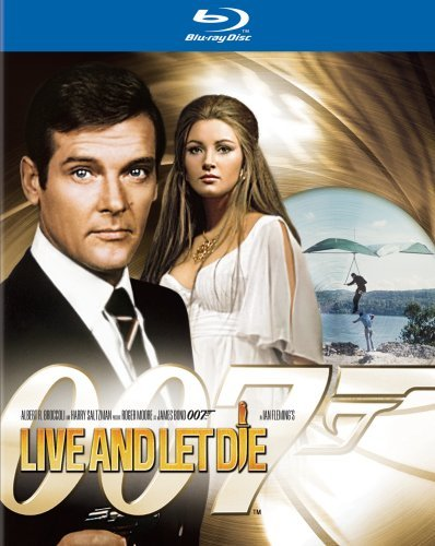 James Bond Live & Let Die Moore Roger Pg Blu Ray Ws