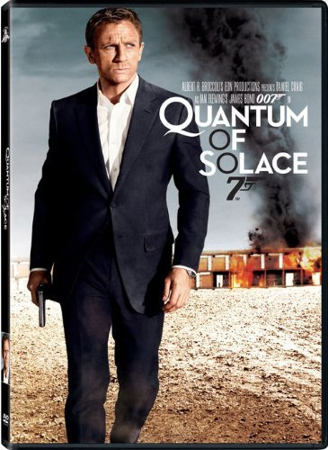 James Bond Quantum Of Solace Craig Kurylenko Wright Dench Pg13 Ws