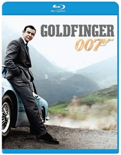 James Bond Goldfinger Connery Sean Pg Blu Ray Ws