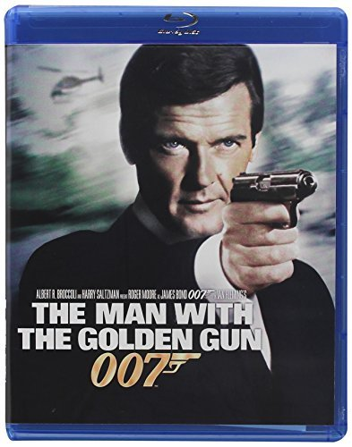 James Bond Man With The Golden Gun Moore Roger Blu Ray Ws Pg