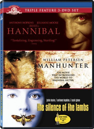 Hannibal Lecter Triple Feature Hannibal Lecter Triple Feature Ws Nr