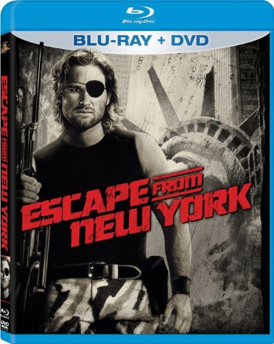 Escape From New York Russell Van Cleef Borgnine Blu Ray DVD R Ws