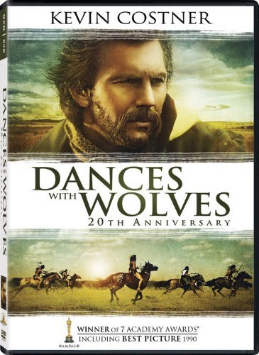 Dances With Wolves Costner Mcdonnell Greene Grant DVD Pg13 20th