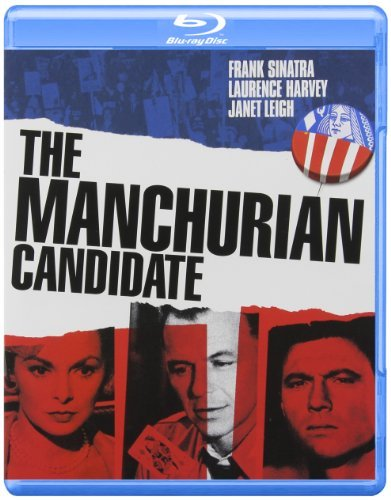 Manchurian Candidate (1962) Sinatra Harvey Lansbury Leigh Blu Ray Pg13