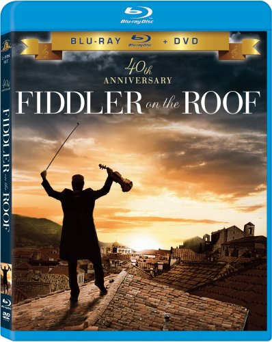 Fiddler On The Roof Topol Crane Frey Picon Blu Ray Ws G Incl. DVD