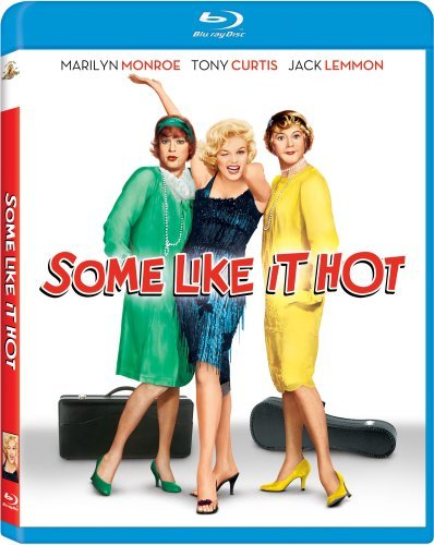 Some Like It Hot Monroe Curtis Lemmon Blu Ray Pg13