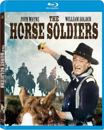 Horse Soldiers Wayne Holden Gibson Towers Sim Blu Ray Ws Nr