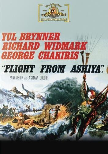 Flight From Ashiya Widmark Knight Brynner DVD R Nr