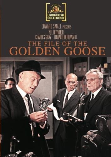 File Of The Golden Goose Brynner Gray Woodward Ws DVD R Pg13