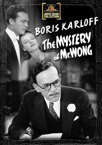 Mystery Of Mr. Wong Karloff Withers Tree Bw DVD R Nr