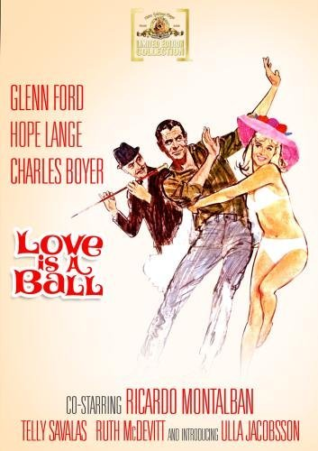 Love Is A Ball (1962) Ford Lange Boyer Ws DVD R Nr