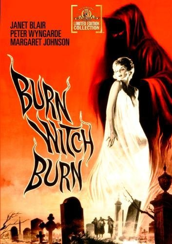 Burn Witch Burn! Wyngarde Blair Johnston DVD R Nr Ws