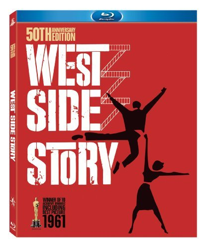 West Side Story Wood Beymer Tamblyn Moreno Blu Ray Ws 50th Anniv. Ed. Nr 2 Br Incl. DVD