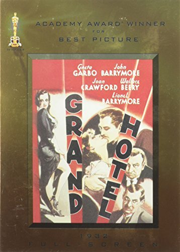 Grand Hotel Garbo Barrymore Crawford Ws Fs O Sleeve Nr