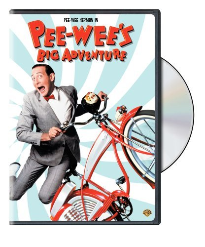 Pee Wee's Big Adventure Herman Daily Hooks Holton DVD Pg