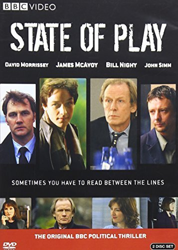 State Of Play Nighy Morrissey Warren Mcavoy Ws Nr