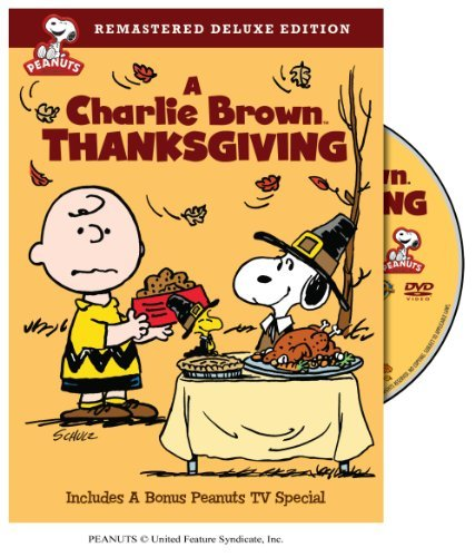 Peanuts Charlie Brown Thanksgiving DVD Nr