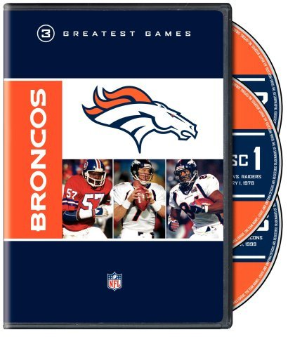 Denver Broncos Greatest Games Nfl Greatest Games Series Nr 2 DVD