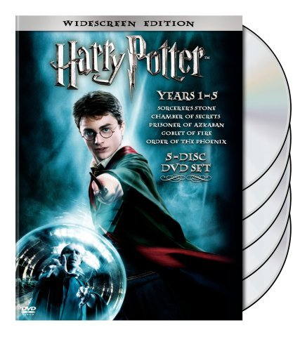 Harry Potter Years 1 5 Harry Potter Years 1 5 Ws Pg 5 DVD