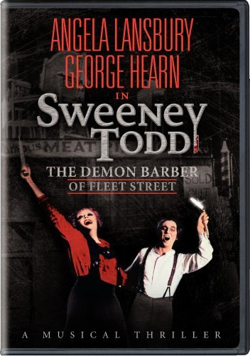 Sweeney Todd Demon Barber Of Lansbury Hearn Nr