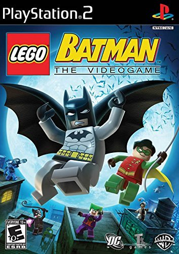 Ps2 Lego Batman Whv Games E10+
