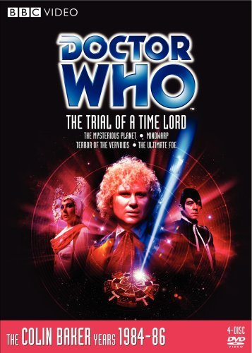 Doctor Who Trial Of A Time Lord Nr 4 DVD