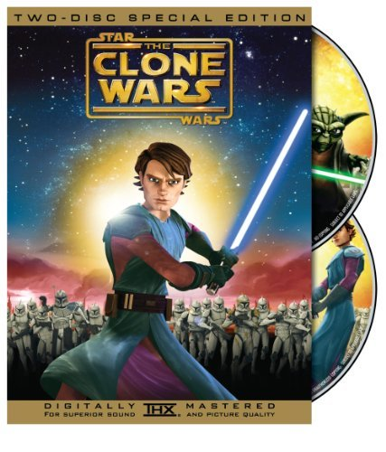 Star Wars The Clone Wars Star Wars The Clone Wars Ws Special Ed. Pg 2 DVD
